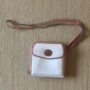 Vintage tan Dooney and Bourke small crossbody bag